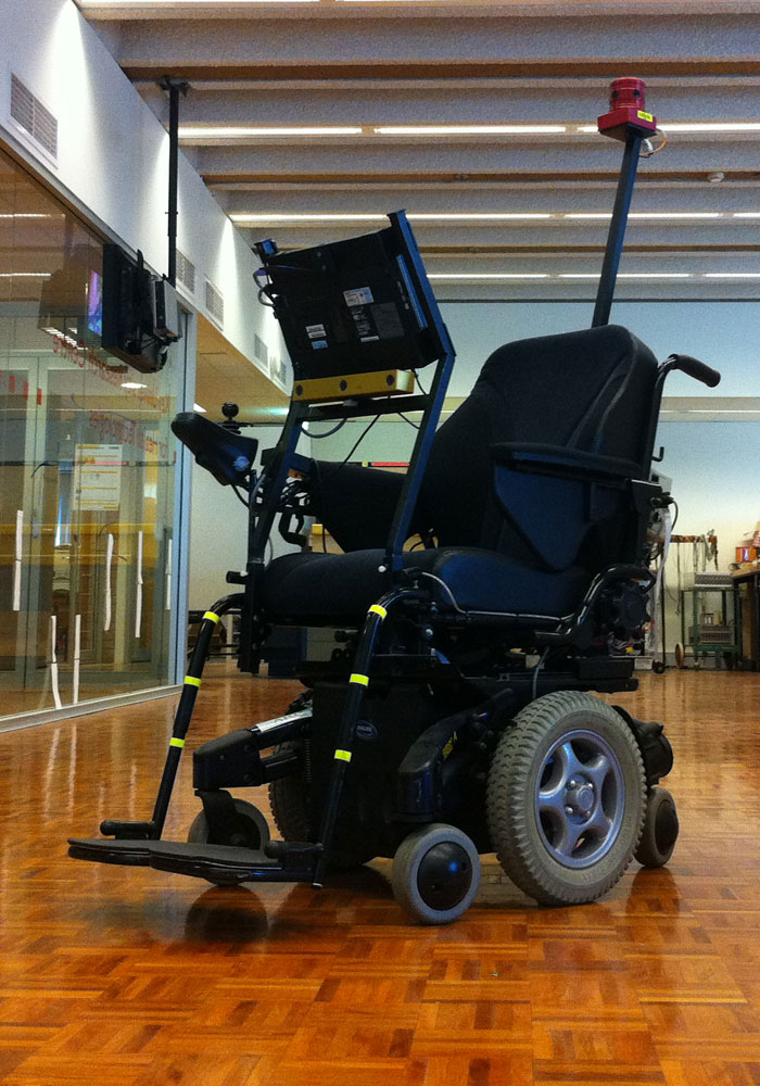 The smart wheelchair