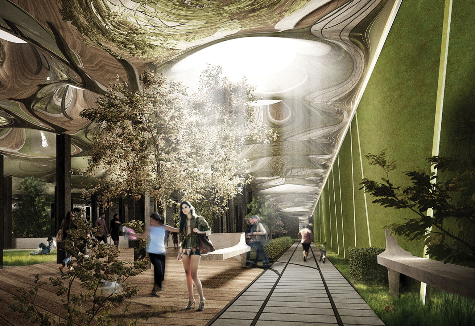 underground cities in New York, the Low Line