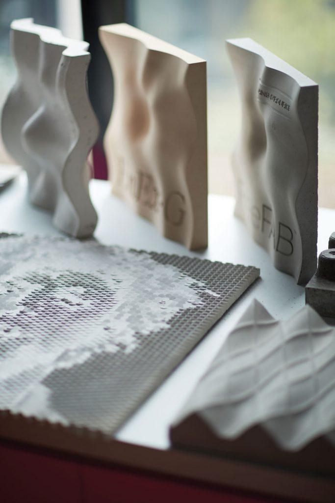 3D printed cladding