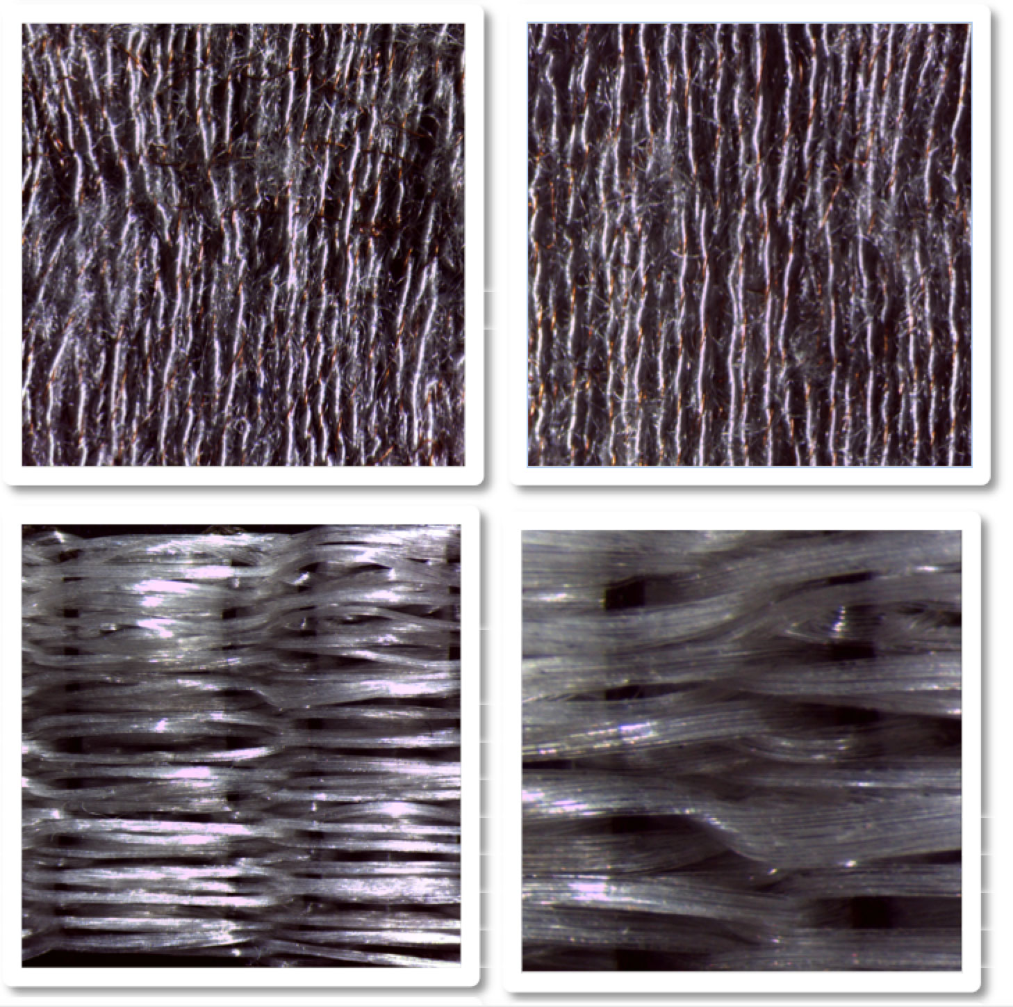 biomedical textile weave swatches