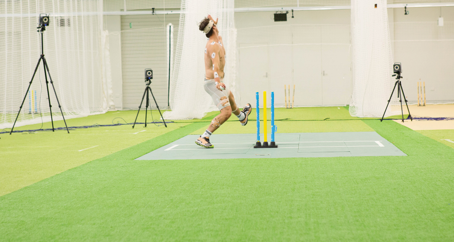 wearable technology in cricket