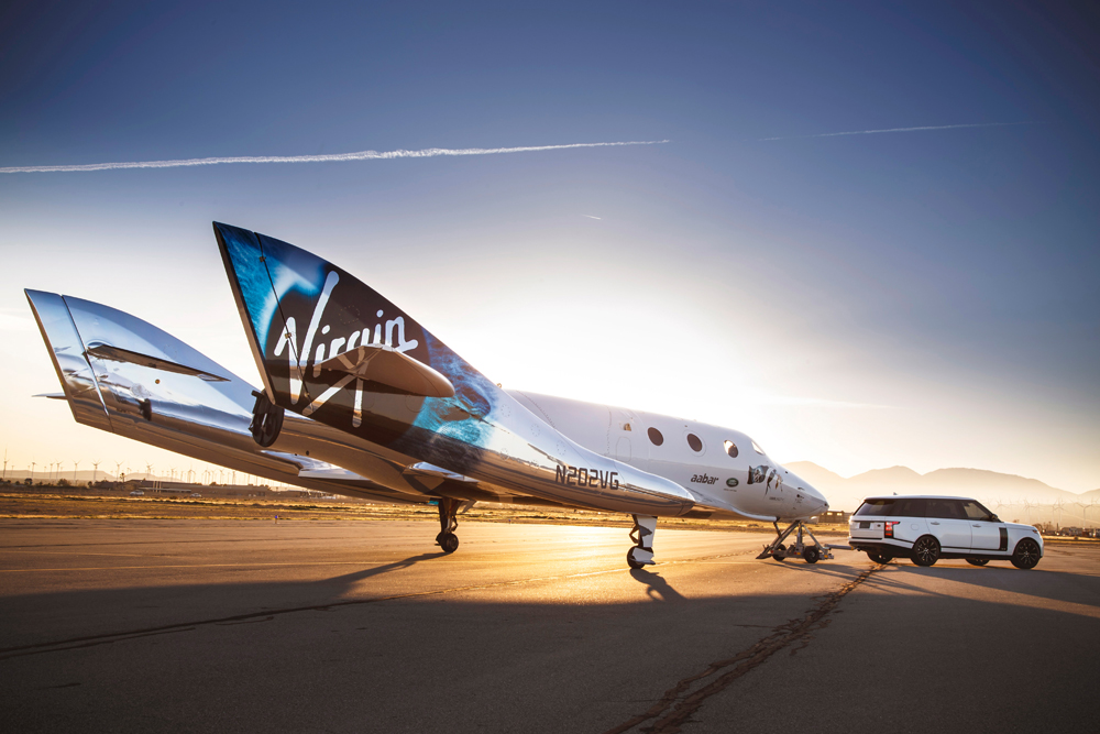 Virgin Galactic SpaceShipTwo Unity space travel