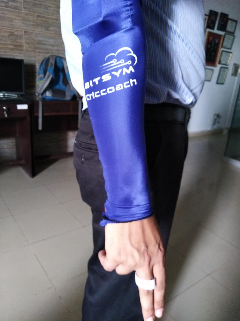 wearable technology in cricket