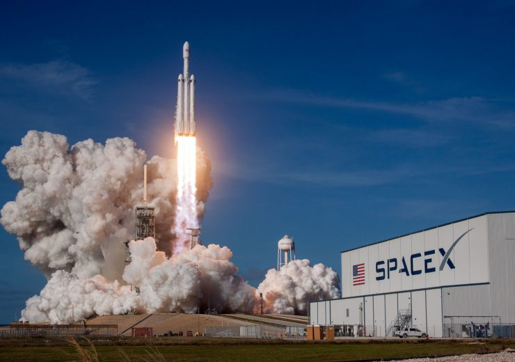 SpaceX Flacon Heavy rocket launch